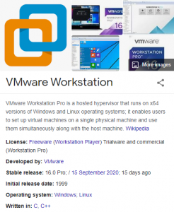 VMWare Workstation Pro 16.0.0 Crack + License key 2021